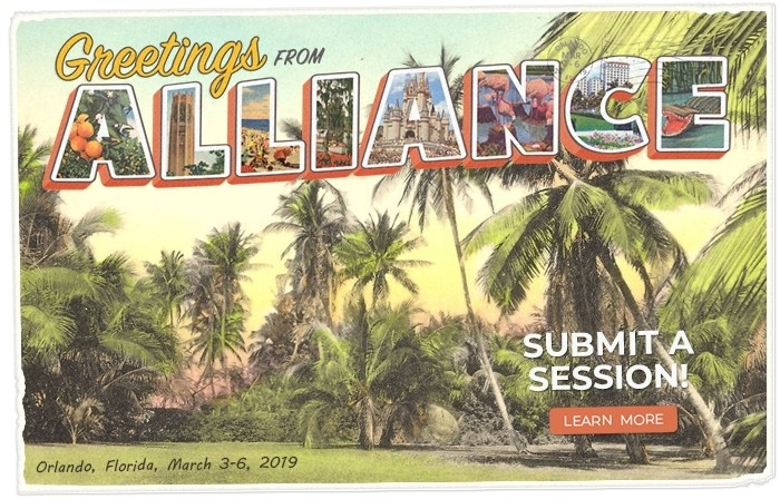 7 Reasons You Want to Present at Alliance 2019!
