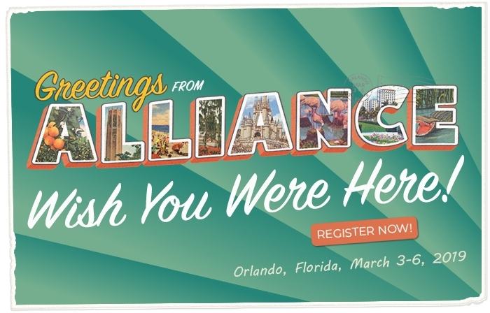 It's not too late to register for Alliance 2019
